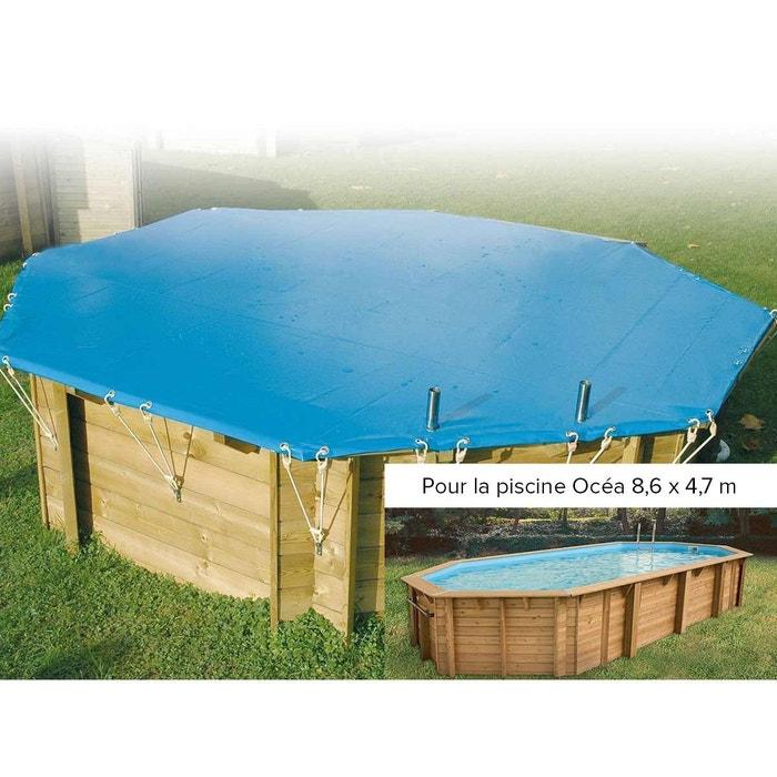 B che hiver pour piscine oc a ubbink 4 70 x 8 60 m couleur for Piscine autoportee la redoute