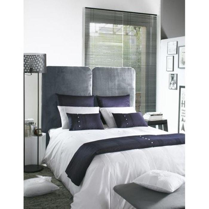 housse de couette vivien blanc liou la redoute. Black Bedroom Furniture Sets. Home Design Ideas