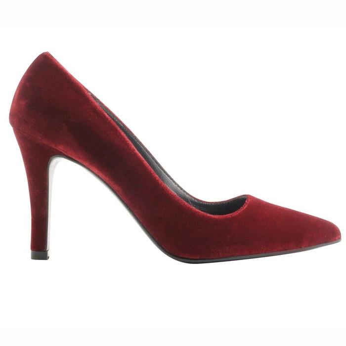 Chaussures à talons kate rouge Exclusif Paris