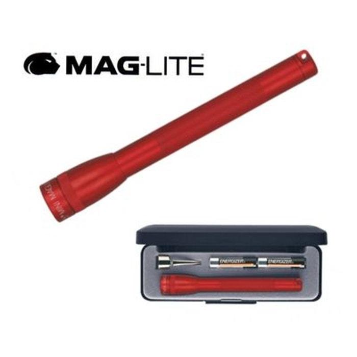 Lampe torche de poche super mini maglite rouge 12 7 cm - Super lampe de poche ...