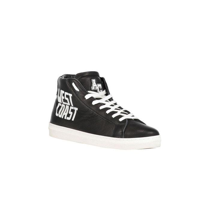 Sneakers west coast american college cuir noir noir American College