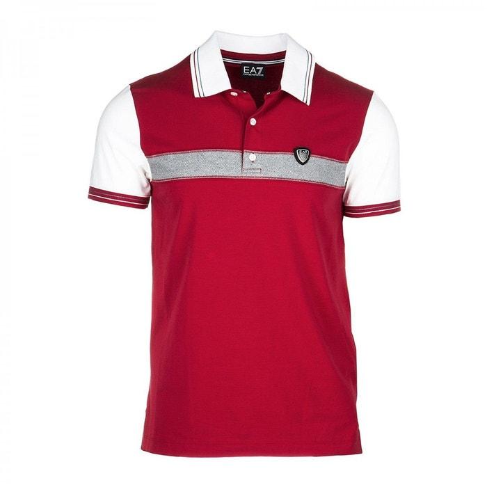 Rouge Coton Emporio Redoute Armani Polo Ea7La EHI29WDY