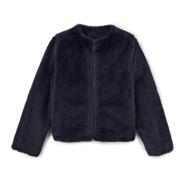 Manteau en fausse fourrure 3-12 ans  La Redoute Collections image 0