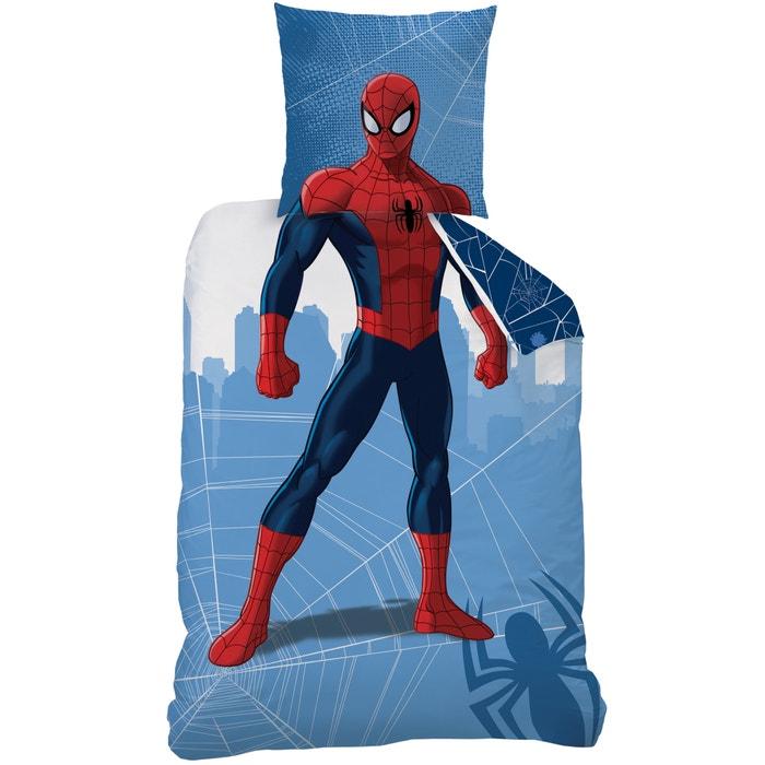 Image Parure imprimée, pur coton, Spiderman Manhatan Deguisement AMAZING SPIDERMAN