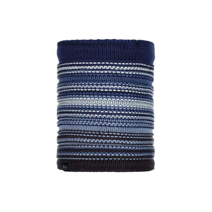 7e2ea64c9935 Tour de cou tricot et polaire bleu Buff   La Redoute