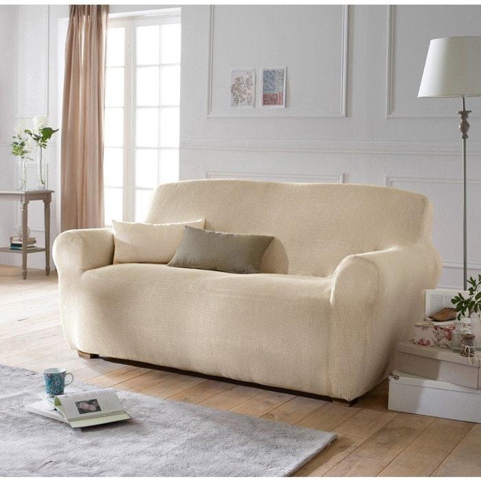 Housse extensible pour fauteuil et canap ahmis la - Housse de chaise extensible la redoute ...