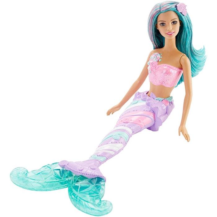 Barbie sir ne multicolore bonbons matdhm46 couleur unique barbie la redoute - Barbie sirene couleur ...