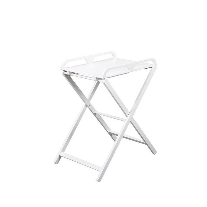 Table à langer pliante en bois Jade laquée blanche Combelle  COMBELLE image 0