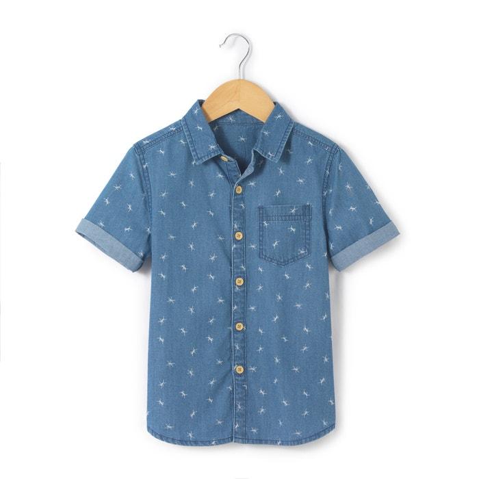 Imagen de Camisa de manga corta con estampado 3-12 años abcd'R