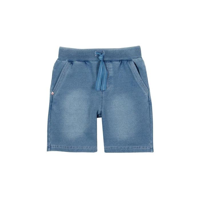 7ca11f231e27b Bermuda en molleton jean bleu Boboli | La Redoute