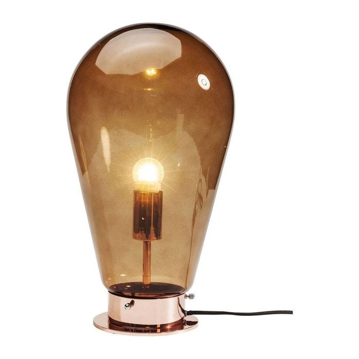 lampe de table bulb cuivre kare design marron kare design la redoute. Black Bedroom Furniture Sets. Home Design Ideas