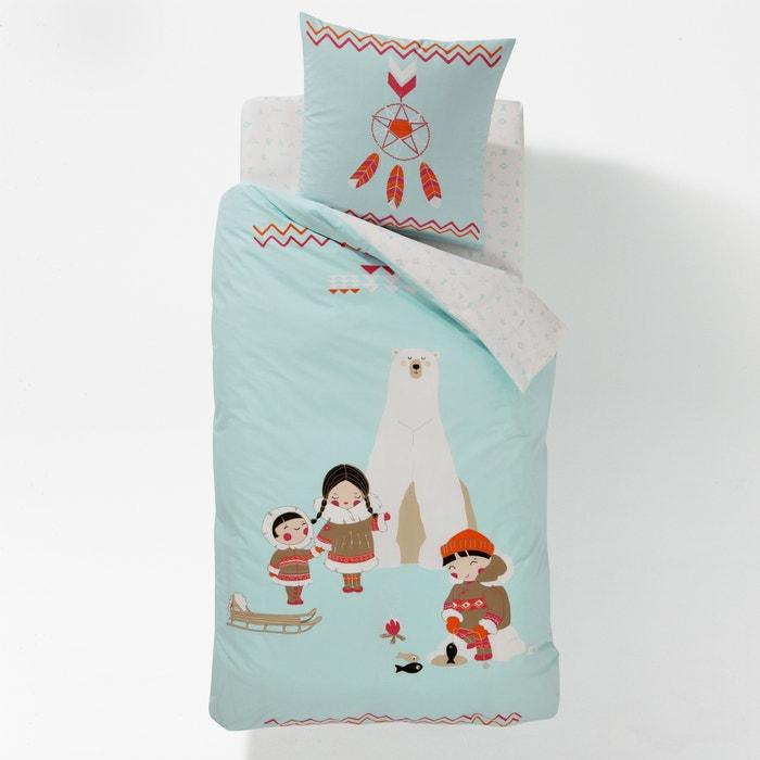 Image Wzorzysta, bawełniana poszwa na kołdrę dla dzieci, INUIT. La Redoute Interieurs