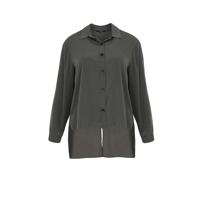 Image Camicia collo polo, camicia tinta unita, maniche lunghe MAT FASHION