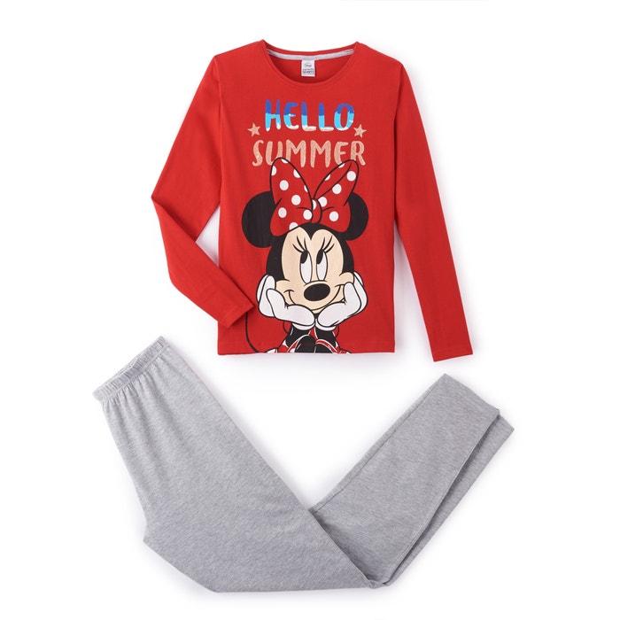 Pijama estampado, 10 - 16 anos  MINNIE MOUSE image 0