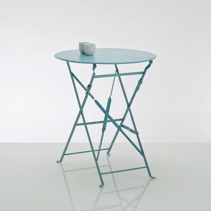 Image Guéridon, table pliante en métal La Redoute Interieurs