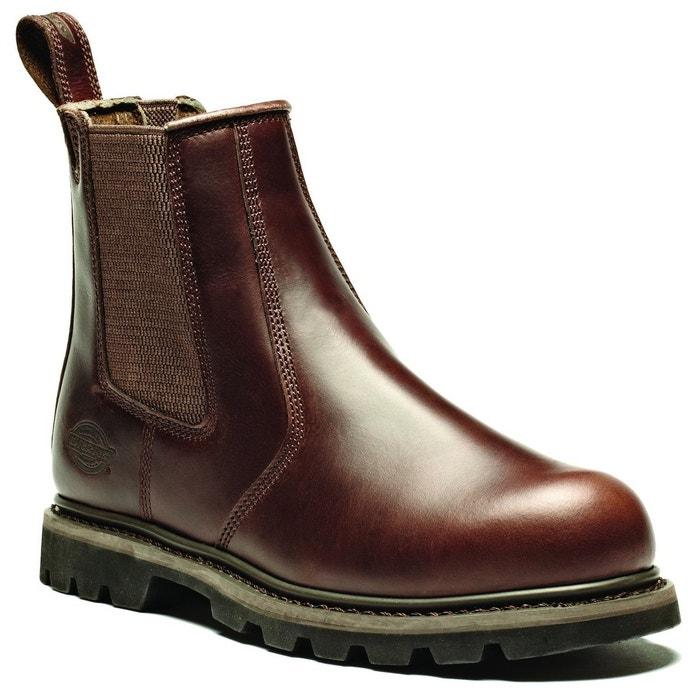 Boots cuir chilver hi noir Clarks La Redoute WNR775MN