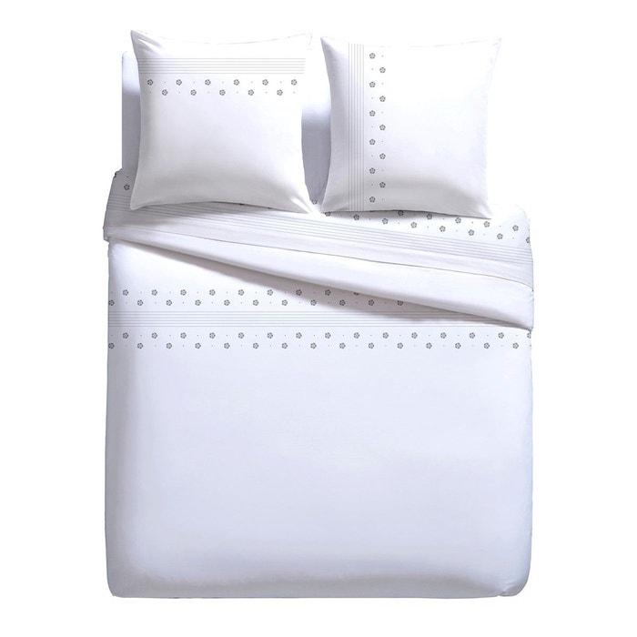 housse de couette kimono blanc tendance perso la redoute. Black Bedroom Furniture Sets. Home Design Ideas