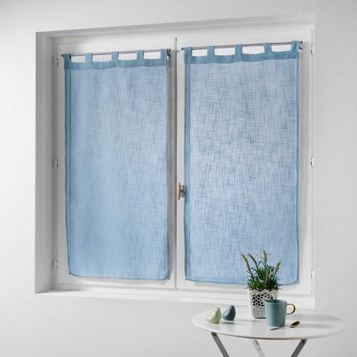 paire de rideaux effet lin collection haltonas douceur d 39 int rieur la redoute. Black Bedroom Furniture Sets. Home Design Ideas