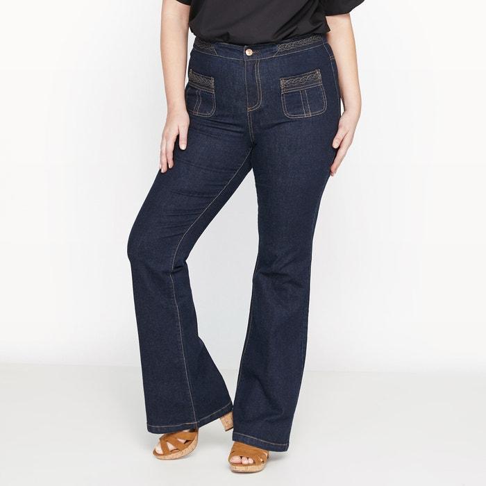 """Image Flared Jeans, Length 33"""" CASTALUNA"""