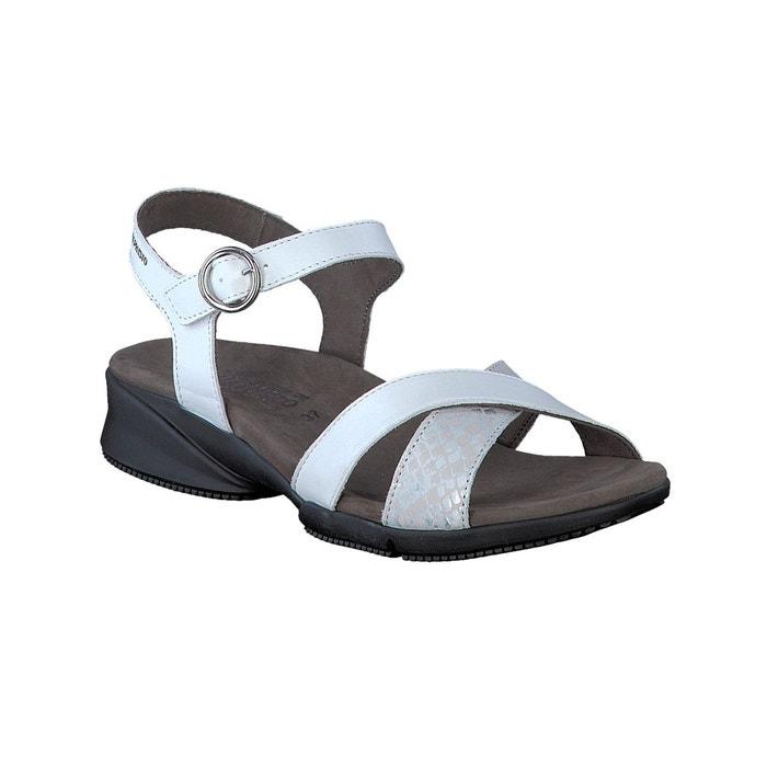 Sandales fara blanc Mephisto