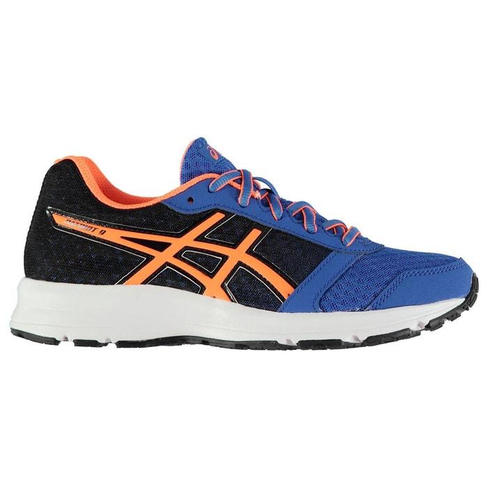 Baskets de running à lacets gel patriot 9 bleu orange Asics   La Redoute 6548cb127a29