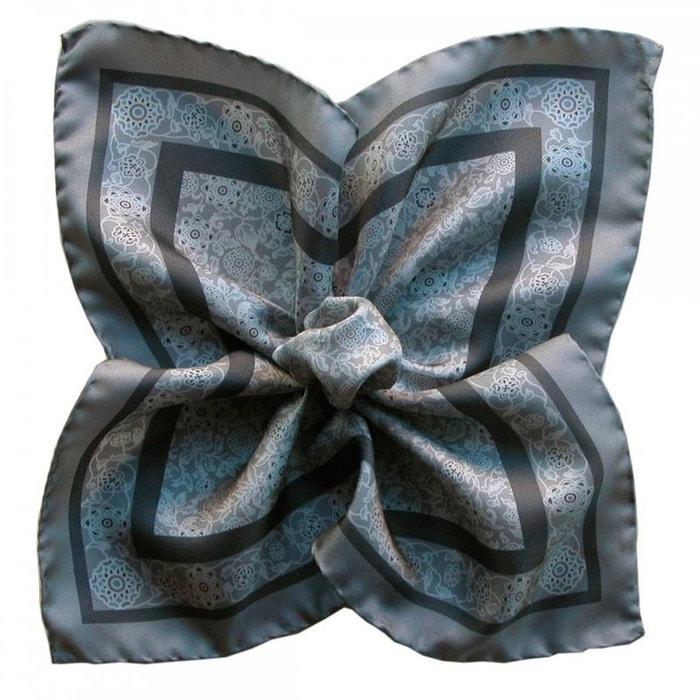 Pochette soie, segni et disegni, auteuil gris gris Segni Et Disegni | La Redoute