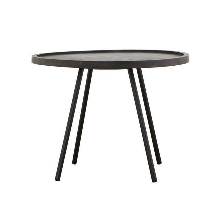 table basse ronde de manguier house doctor juco d 60 cm multicolore house doctor la redoute. Black Bedroom Furniture Sets. Home Design Ideas