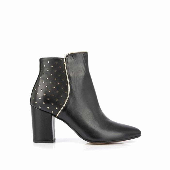 Boots cuir charlyna noir Mellow Yellow Réduction En Ligne Avec En Ligne Paypal Remises Vente En Ligne 3OwuXcG