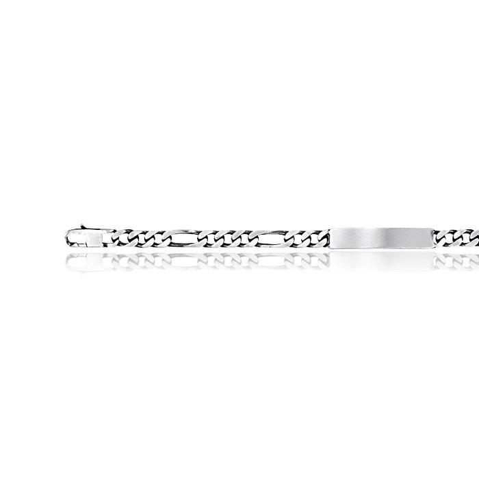 Gourmette argent 925/1000 blanc Cleor | La Redoute original Am49T7r