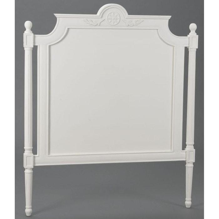 t te de lit classique chic l105xh125 amadeus blanc antique pier import la redoute. Black Bedroom Furniture Sets. Home Design Ideas