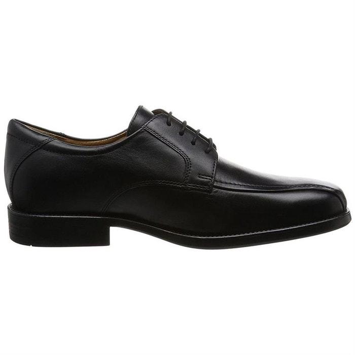 Chaussures à lacets cuir noir Geox   La Redoute fd1d2ab7de0b