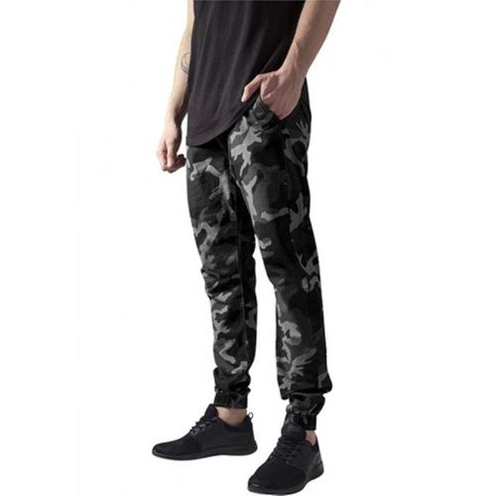 Pantalon ribstop camo jogger gris foncé Urban Classics