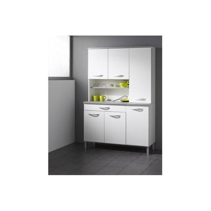buffet blanc blanc declikdeco la redoute. Black Bedroom Furniture Sets. Home Design Ideas