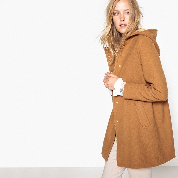 Cappotto con cappuccio in panno di lana  MADEMOISELLE R image 0