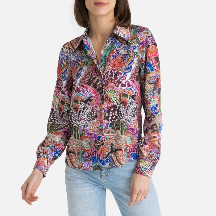 fad1b448008 Tommy x zendaya satin multi-coloured shirt , multi-coloured, Tommy Hilfiger  | La Redoute