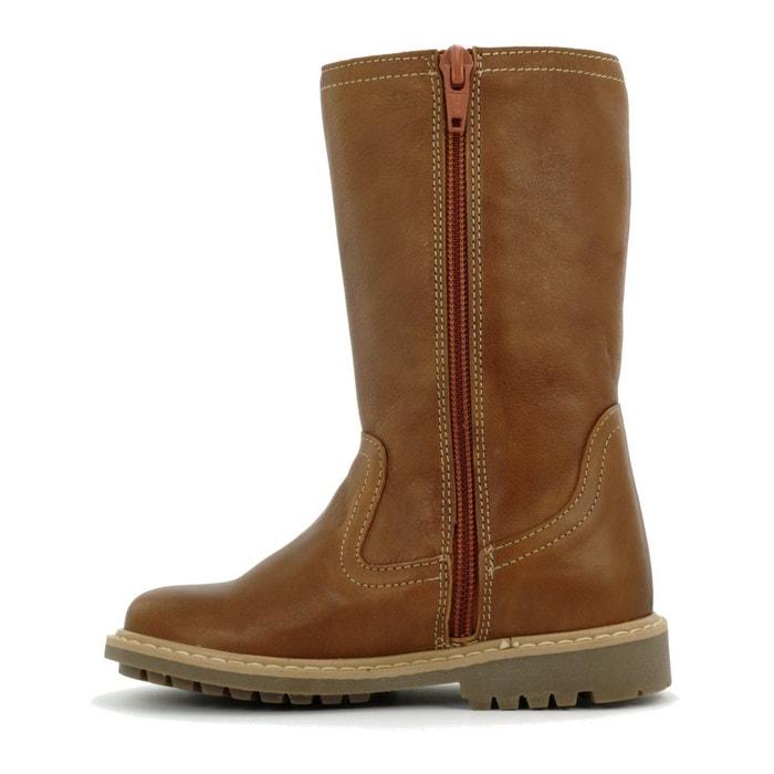 9e8dde6e9bf8c Boni nicolas - bottes cuir enfant marron Boni Sidonie