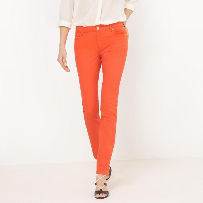 Pantaloni 5 tasche, taglio dritto  La Redoute Collections image 0