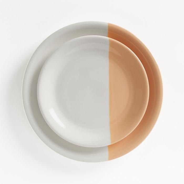 Image Assiettes plates faïence ZALATO (lot de 4) La Redoute Interieurs