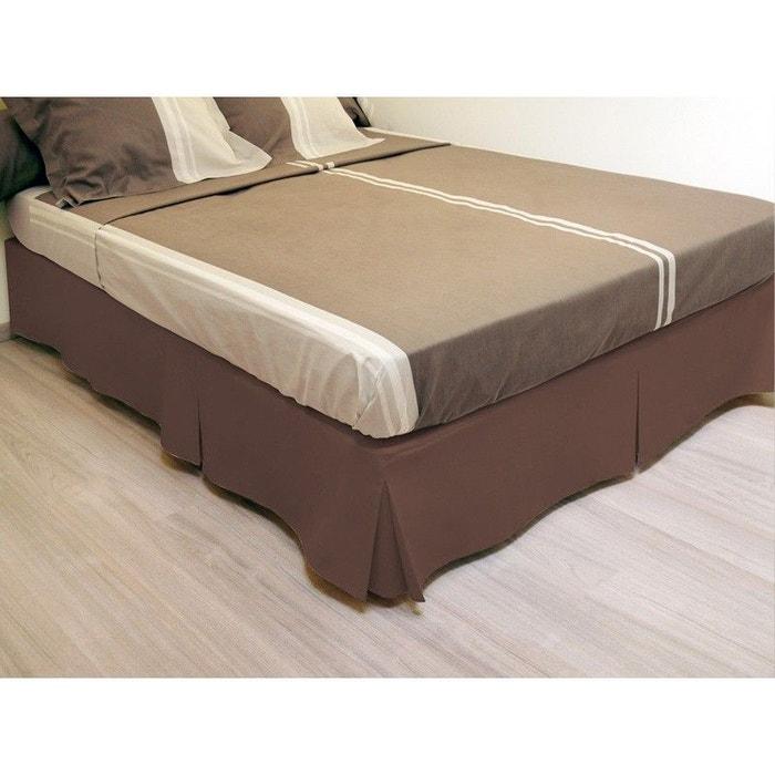 cache sommier 160x200cm decoratie la redoute. Black Bedroom Furniture Sets. Home Design Ideas