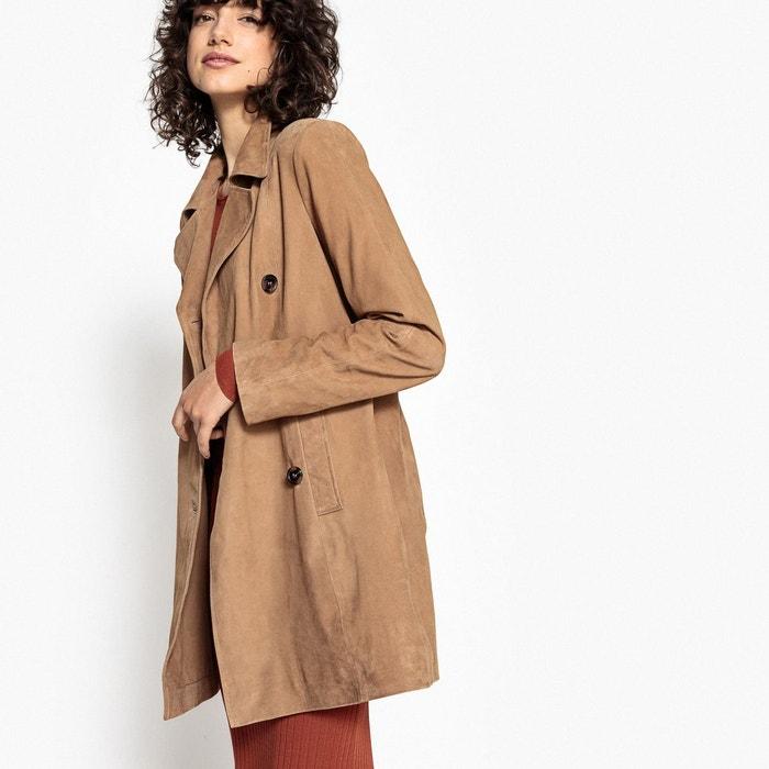 Manteau en cuir de chèvre  LA REDOUTE COLLECTIONS image 0