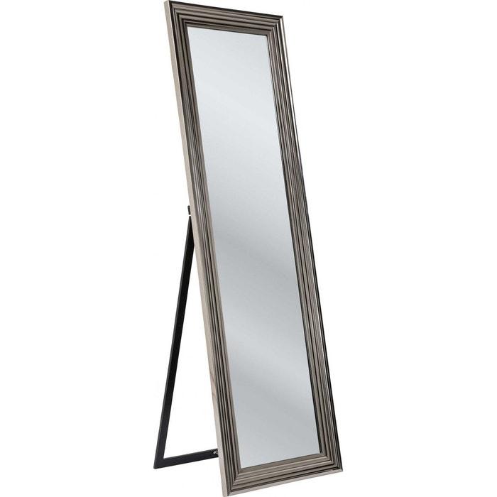miroir sur pied frame argent 180x55cm kare design couleur unique kare design la redoute. Black Bedroom Furniture Sets. Home Design Ideas