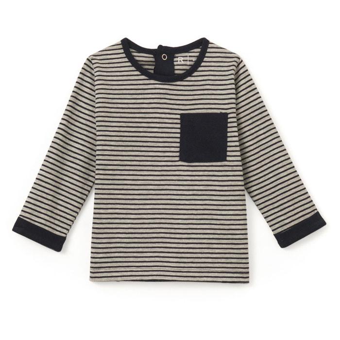 afbeelding Gestreept T-shirt met lange mouwen 1 mnd - 3 jr R essentiel
