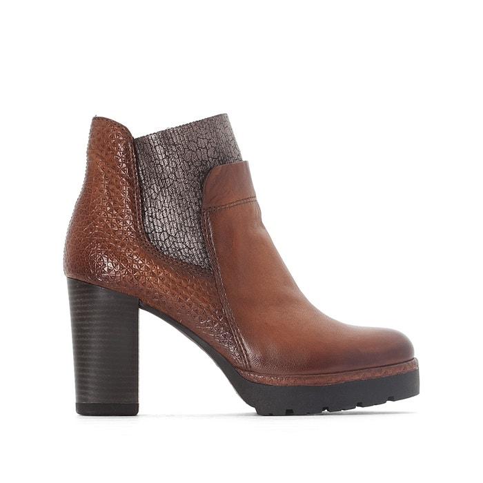 afbeelding Leren boots Fatto MJUS