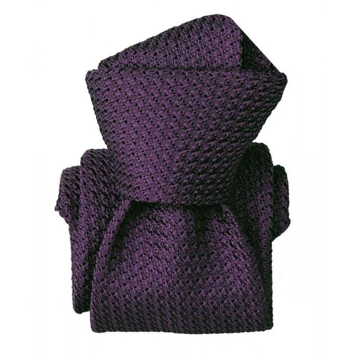 Cravate grenadine de soie, segni & disegni, beverly violet violet Segni Et Disegni | La Redoute