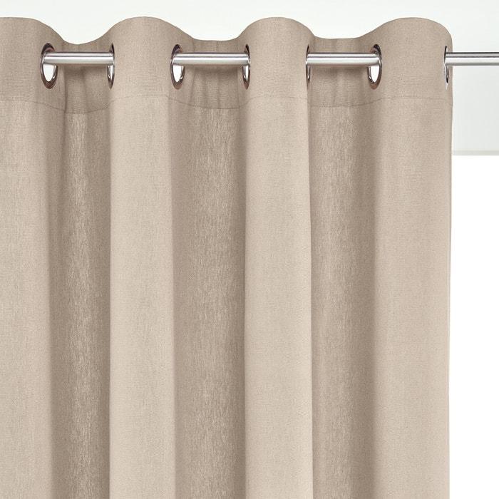 Cortinado em linho/algodão com ilhós, TAÏMA  La Redoute Interieurs image 0