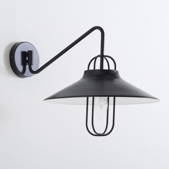 afbeelding Wandlamp in metaal, industriële stijl, Éméo La Redoute Interieurs