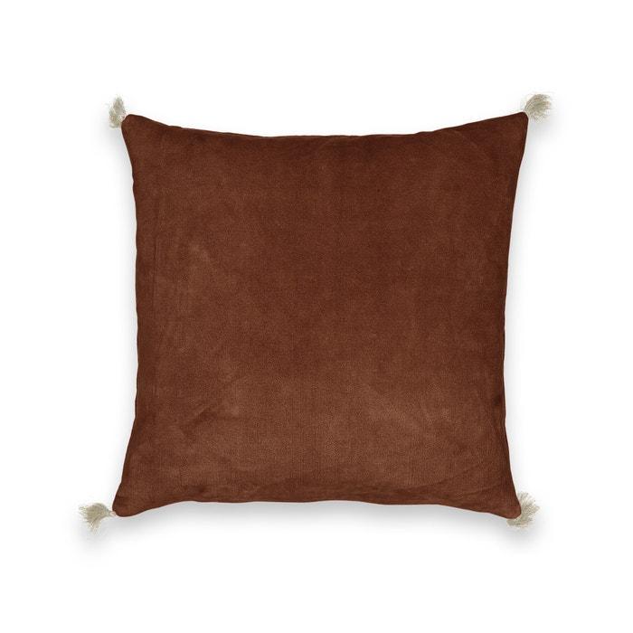Federa per cuscino velluto effetto used, Cacolet  AM.PM. image 0