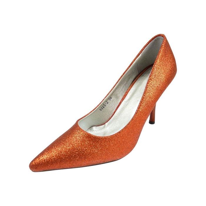 Chaussures mariage femme à strass paillettes CHAUSSMARO