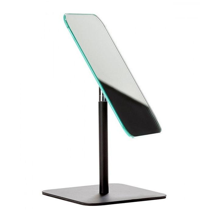 Miroir de Table Design en Métal Noir  WADIGA image 0