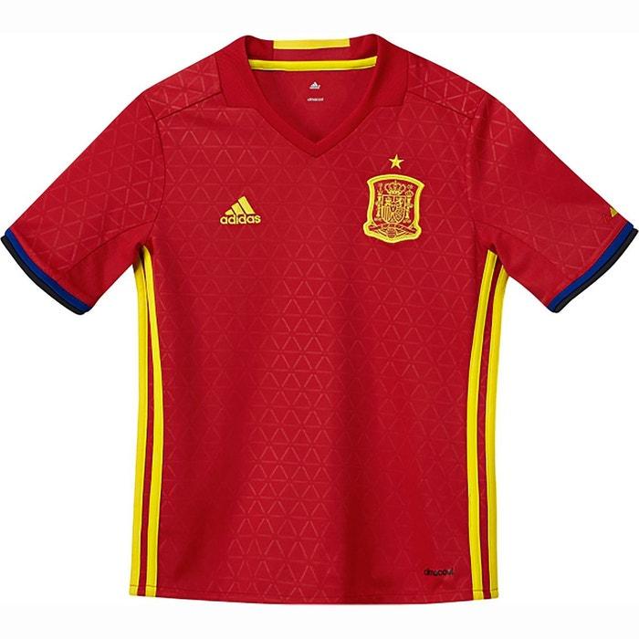 Maillot Espagne Iniesta Domicile 2016/17 Junior